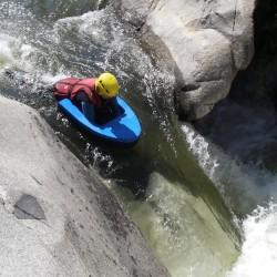 Nage en eaux vives - hydrospeed