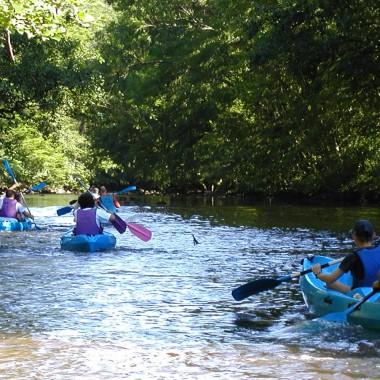 Rando en canoë - riviere